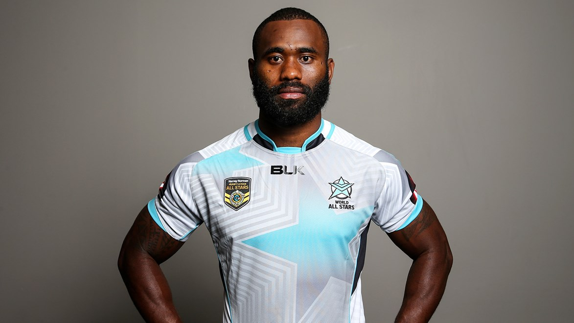 Semi Radradra is passionate about representing his culture at the All Stars.