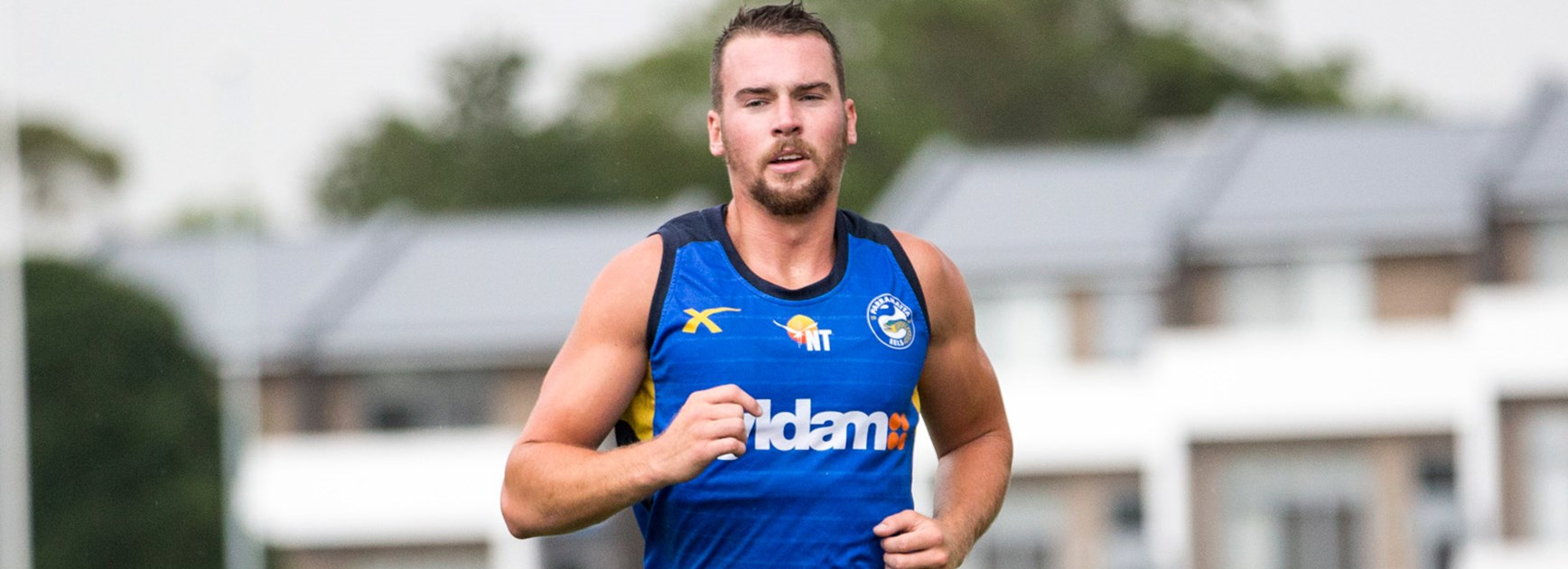 Eels recruit Clint Gutherson is looking to move to fullback in the long-term.