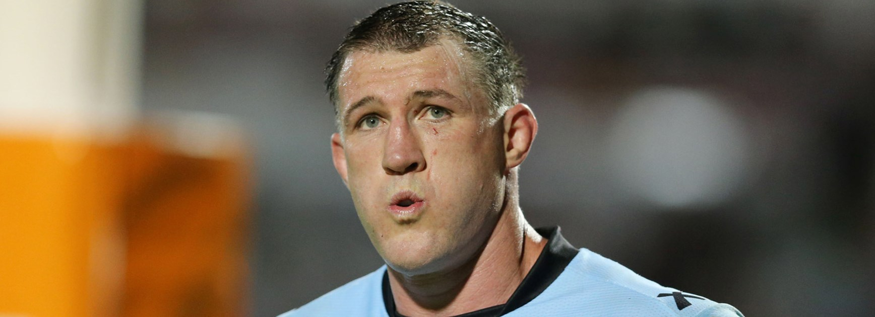 Sharks skipper Paul Gallen was injured in his side's semi-final loss to the Cowboys.