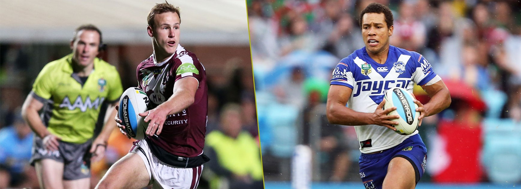 Manly star Daly Cherry-Evans and Bulldogs playmaker Moses Mbye will both find themselves under pressure to carry their team this season.