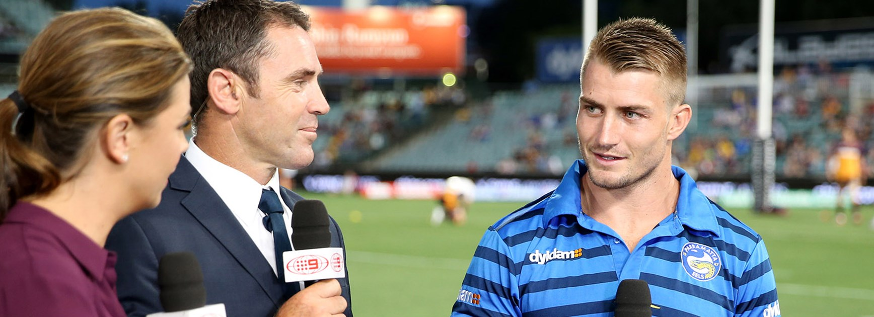 Kieran Foran was a late scratching from the Eels Round 1 clash with the Broncos.