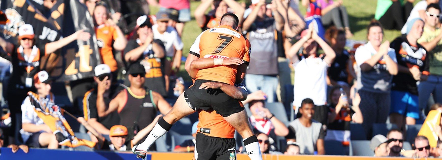 The Wests Tigers put on a show against the Warriors in Round 1.