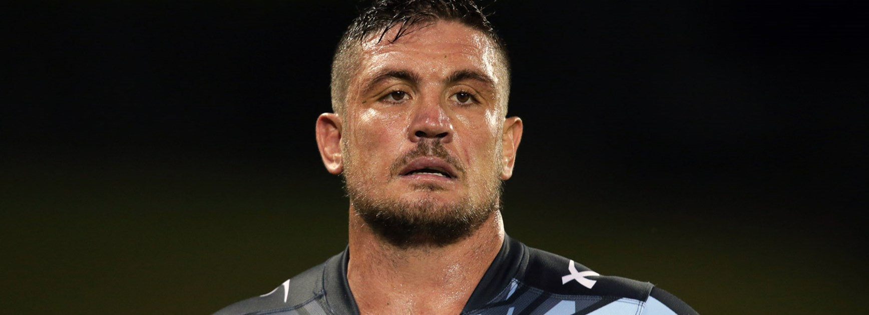 Sharks prop Chris Heighington was one of three players charged so far in Round 1.