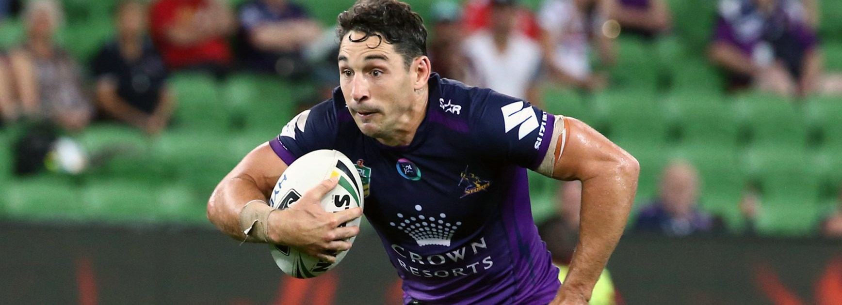 Billy Slater made a successful return from injury in Round 1.