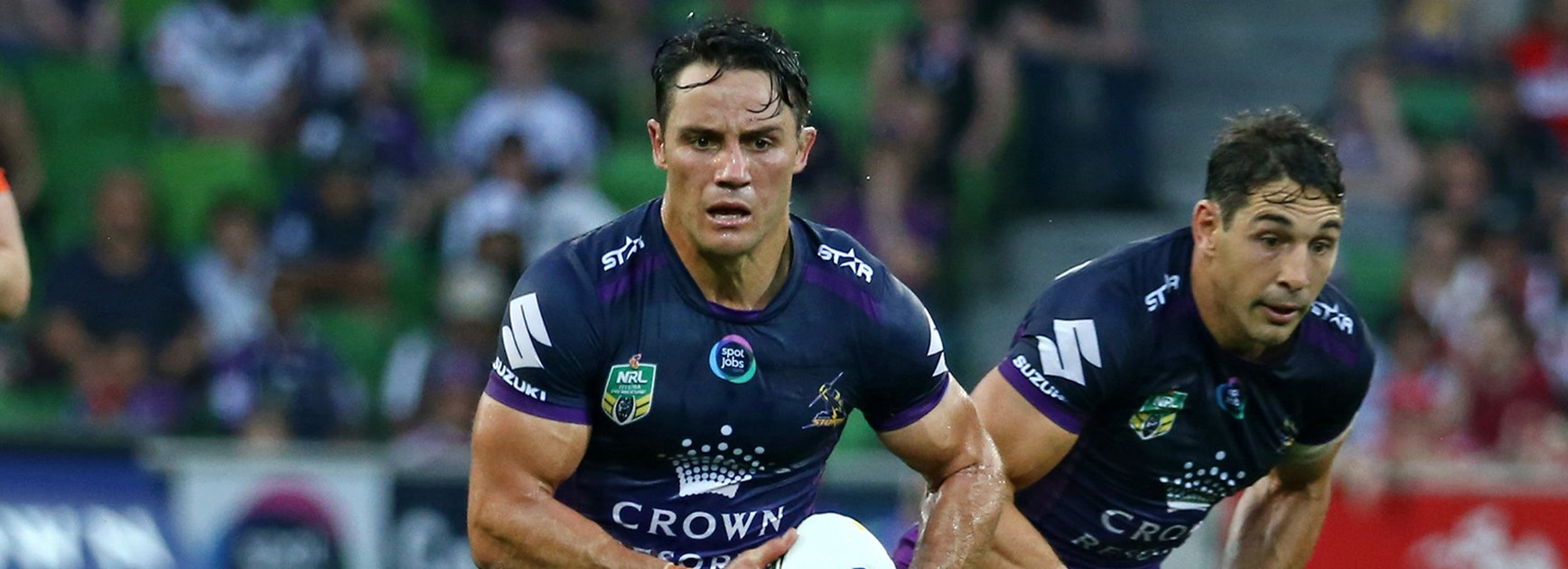 The Titans will be on high alert when Cooper Cronk has the ball in his hands.