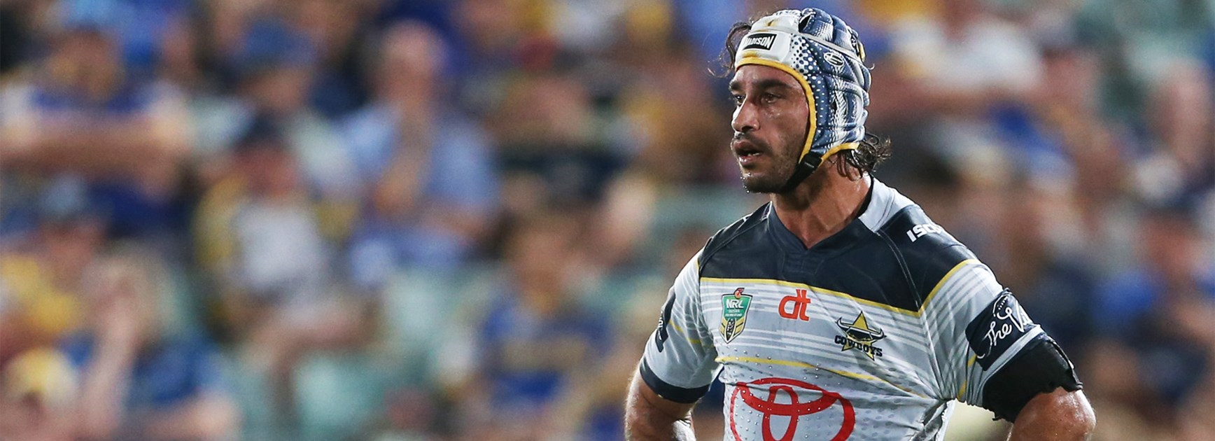 Johnathan Thurston during the Cowboys' shock loss to Parramatta in Round 2.
