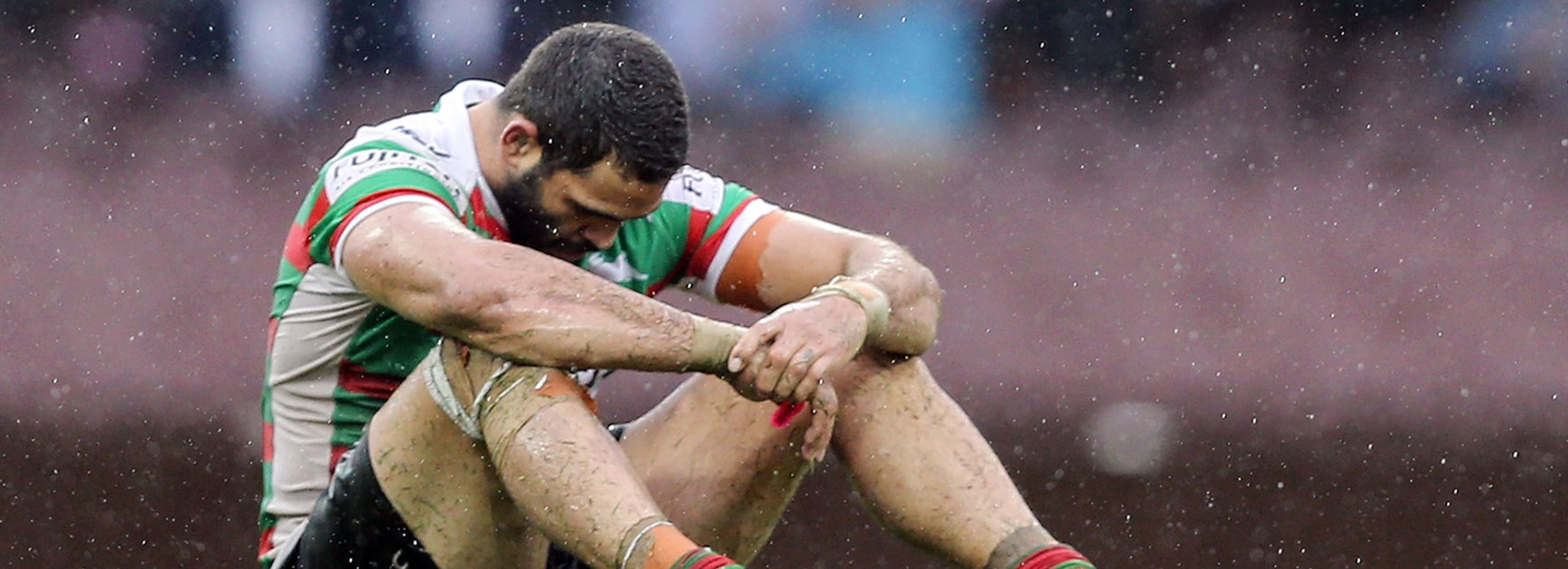 It was an afternoon to forget for Greg Inglis and the Rabbitohs as they lost to the Dragons at the SCG.