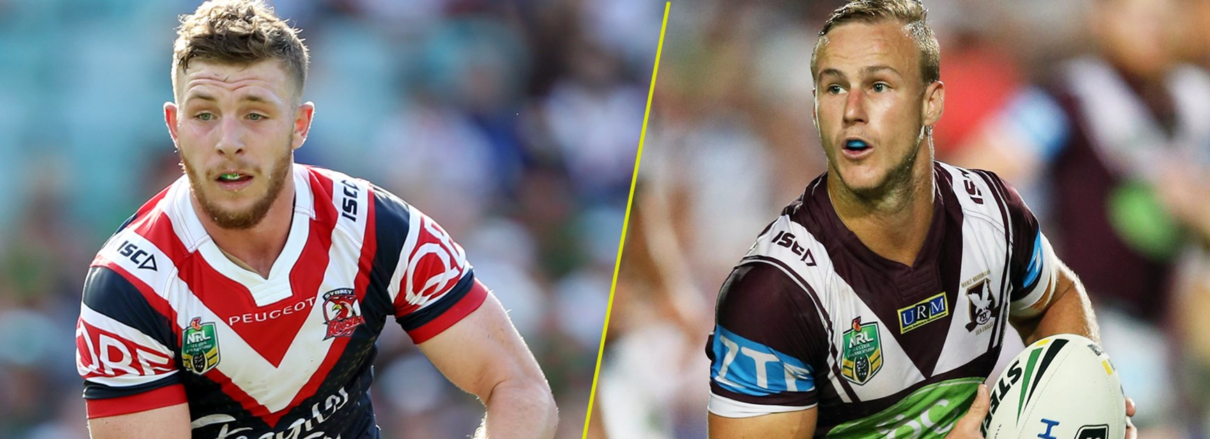 Jackson Hastings and Daly Cherry-Evans.