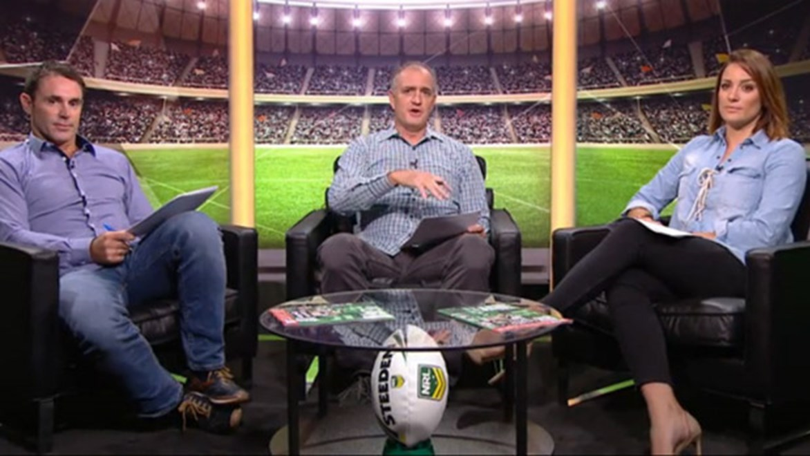 Brad Fittler, Bill Woods and Renee Gartner on NRL.com's Friday Fever.