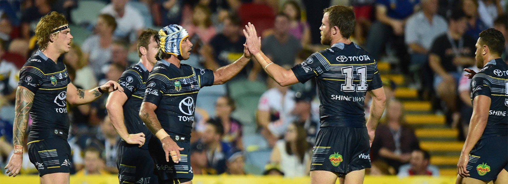 The Cowboys were at their impressive best against the Dragons on Saturday.