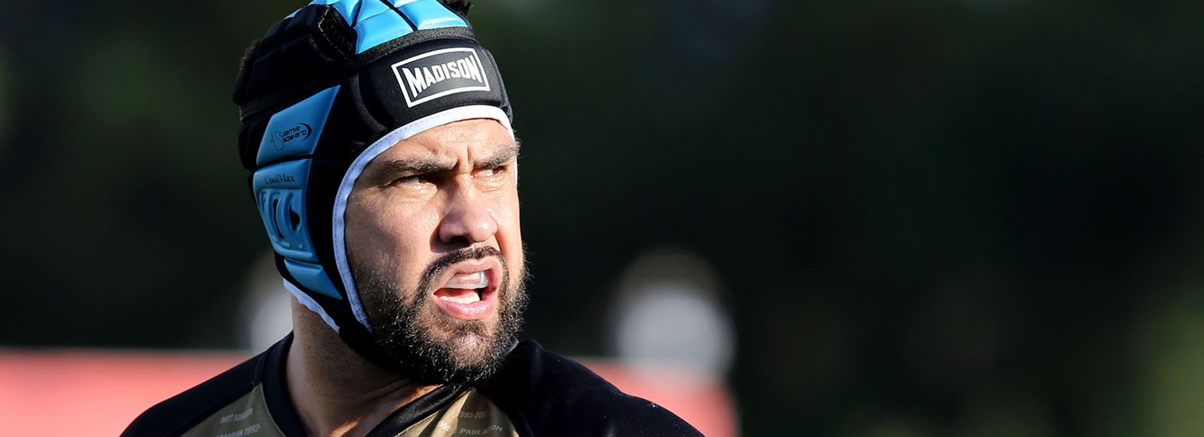 Jamie Soward looks on during his side's clash with Parramatta.