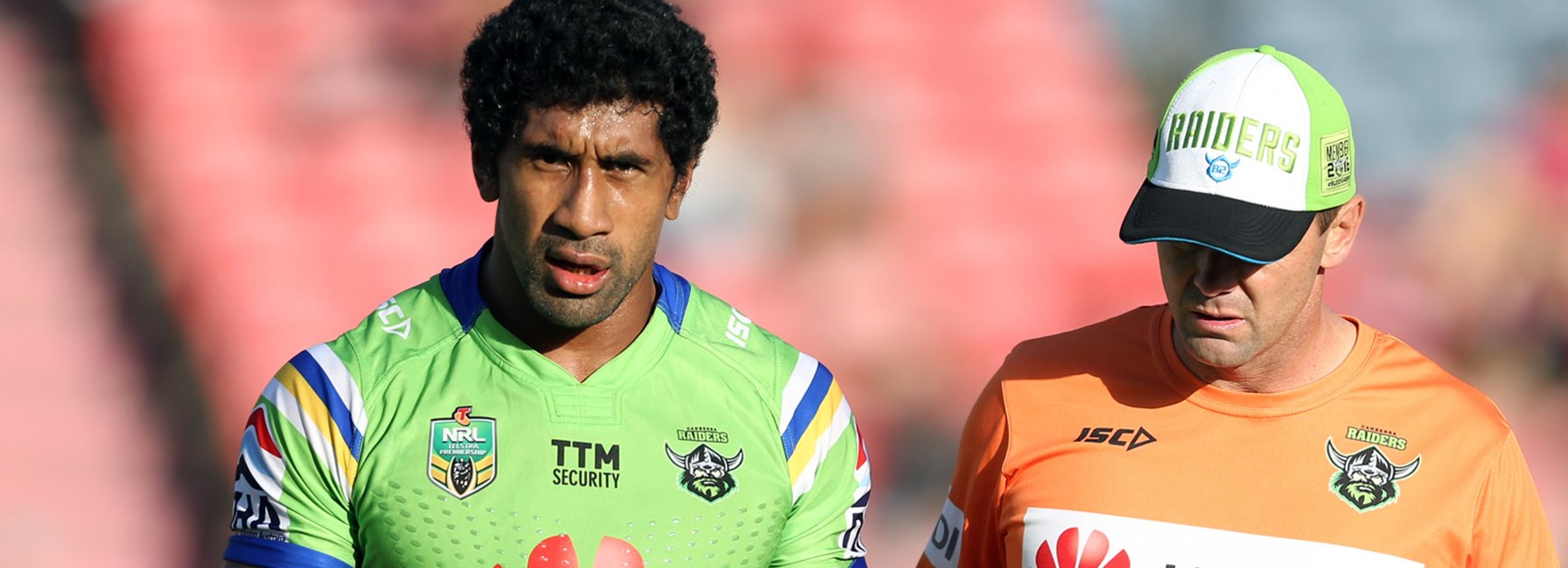 Raiders forward Sia Soliola will miss 6-8 weeks with an arm injury.