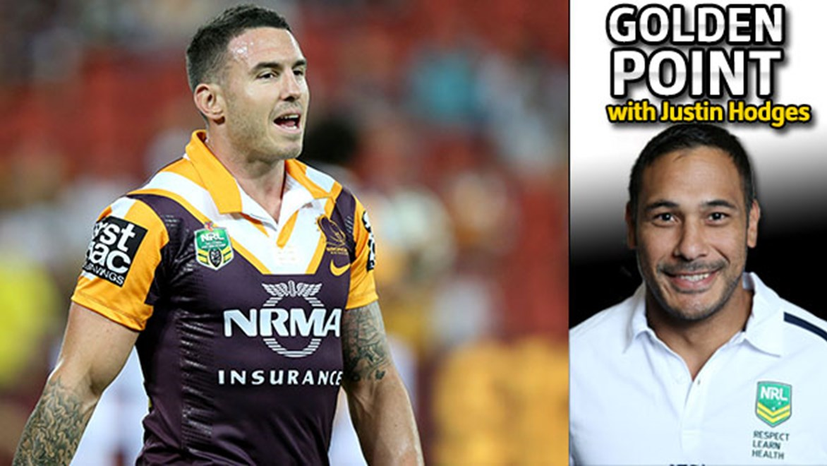 The transofmration of Darius Boyd has been nothing short of incredible according to Justin Hodges.