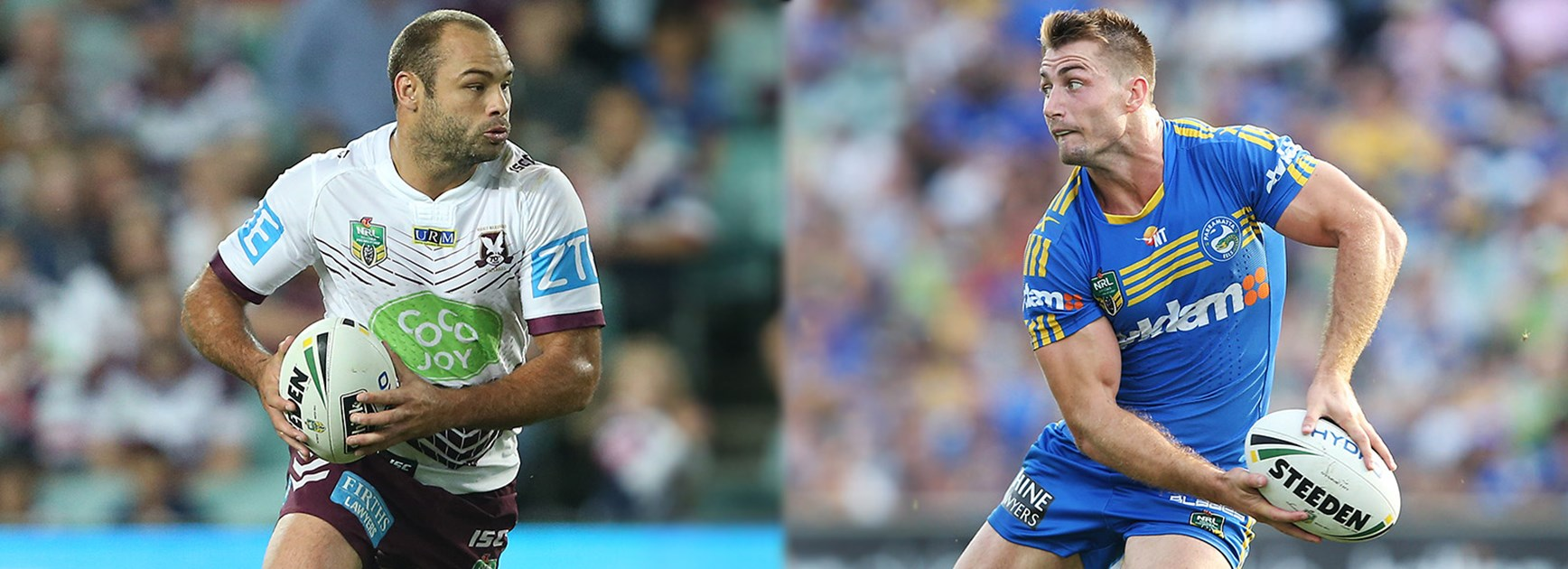 Kieran Foran returns to Brookvale Oval to take on his former Manly teammates.