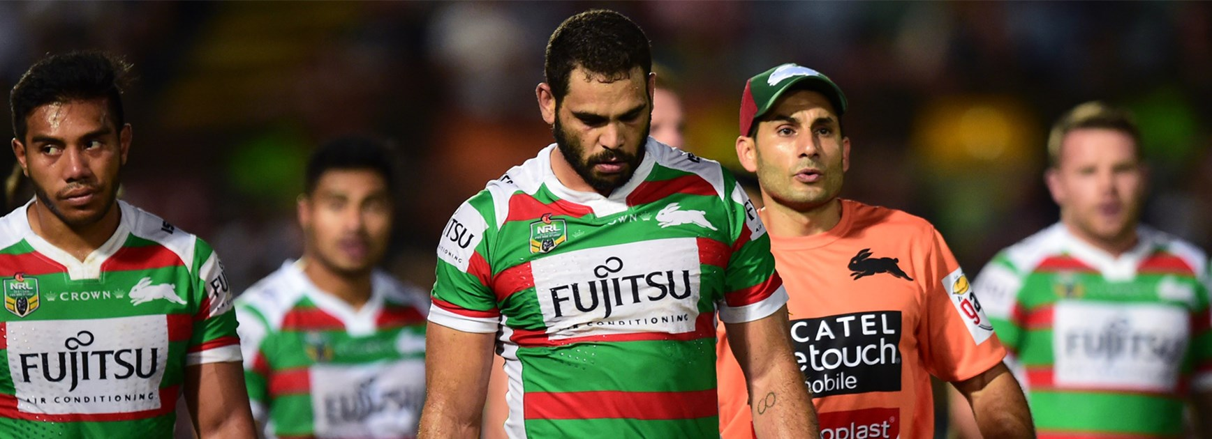 Greg Inglis during South Sydney's Round 7 loss to North Queensland.