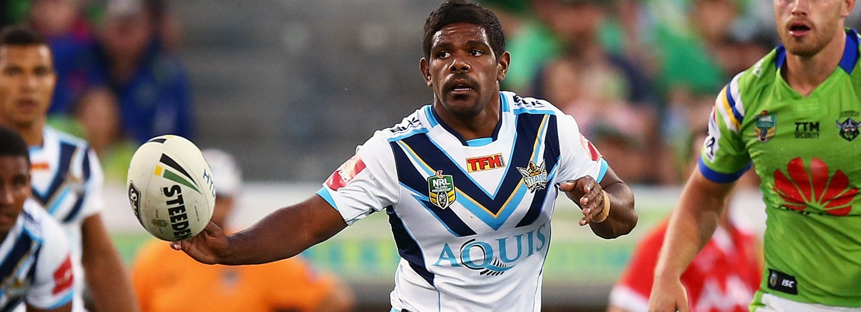 Titans hooker Kierran Moseley returns to first grade in Round 8.