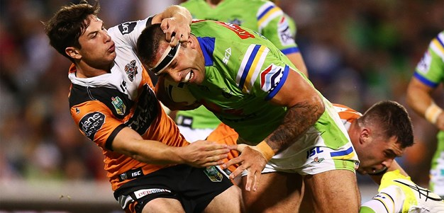 Raiders v Wests Tigers: Five key points