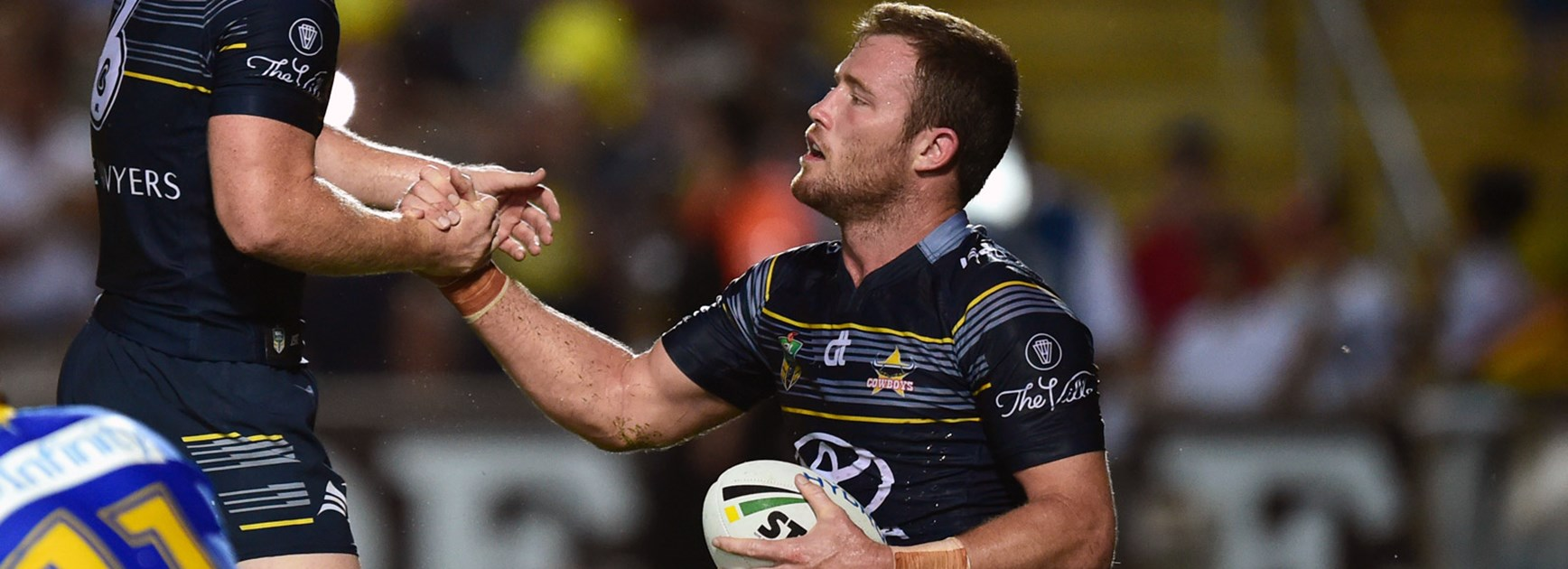 Cowboys back-rower Gavin Cooper against the Eels in Round 8.