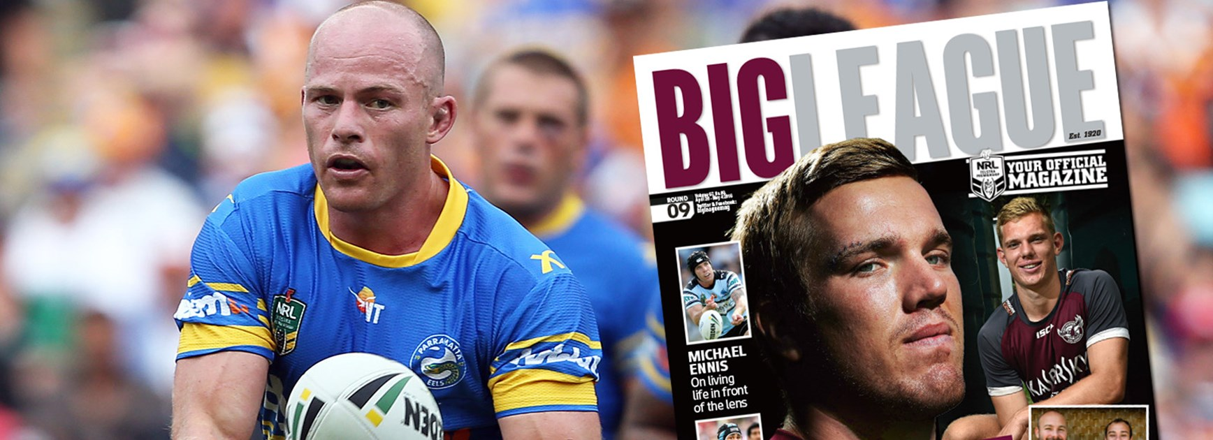 Beau Scott has become a leader in his first season at the Eels.
