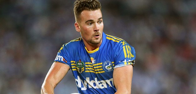 Gutherson lights up at fullback for Eels