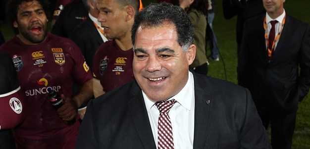 Meninga enters enemy territory