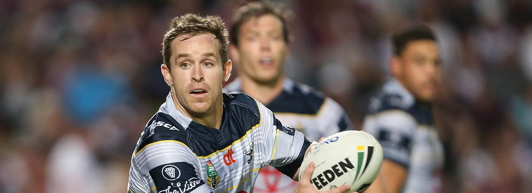 Cowboys five-eighth Michael Morgan starred against Manly in Round 9 of the Telstra Premiership.