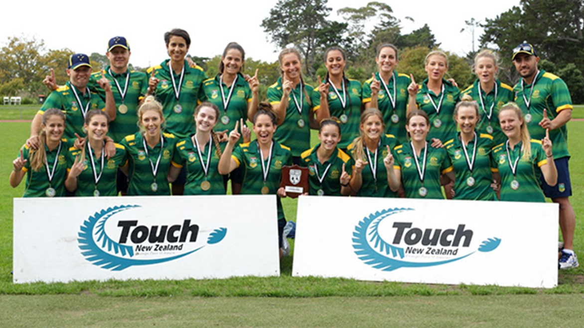 The Australian women's touch team swept their three-match series against New Zealand.