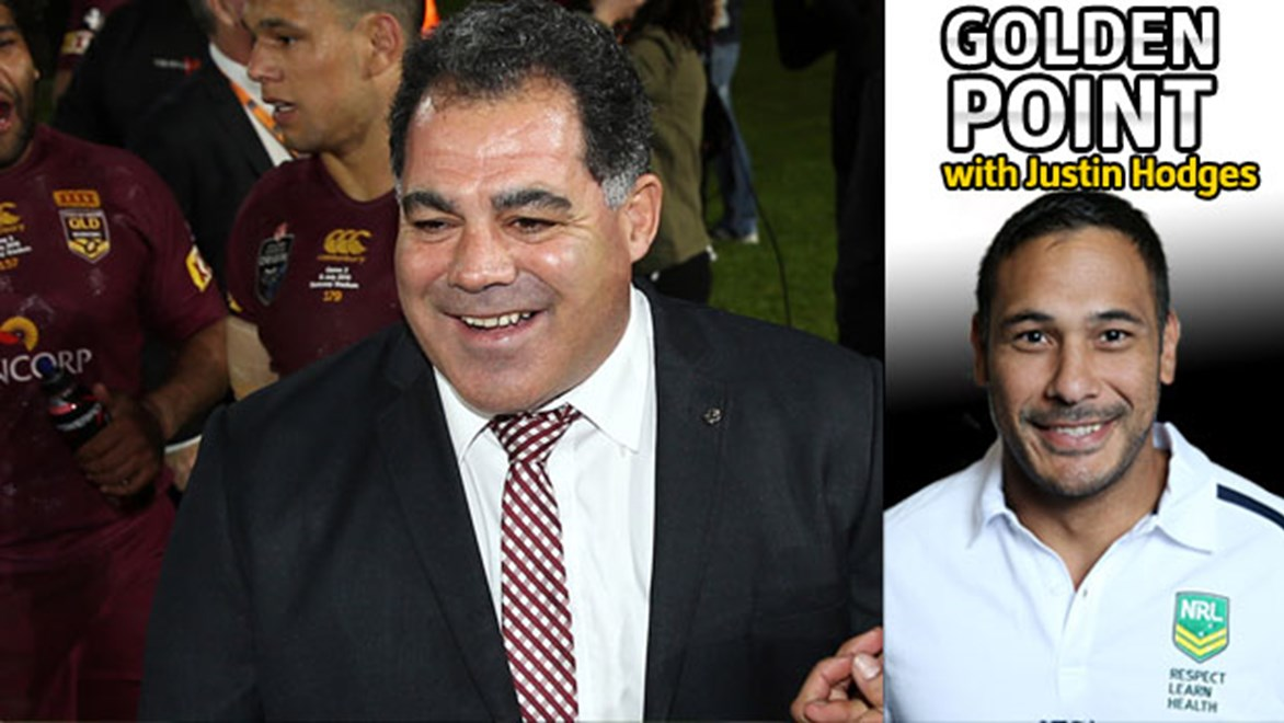 Justin Hodges says Mal Meninga can help make international rugby league the pinnacle of the game again.