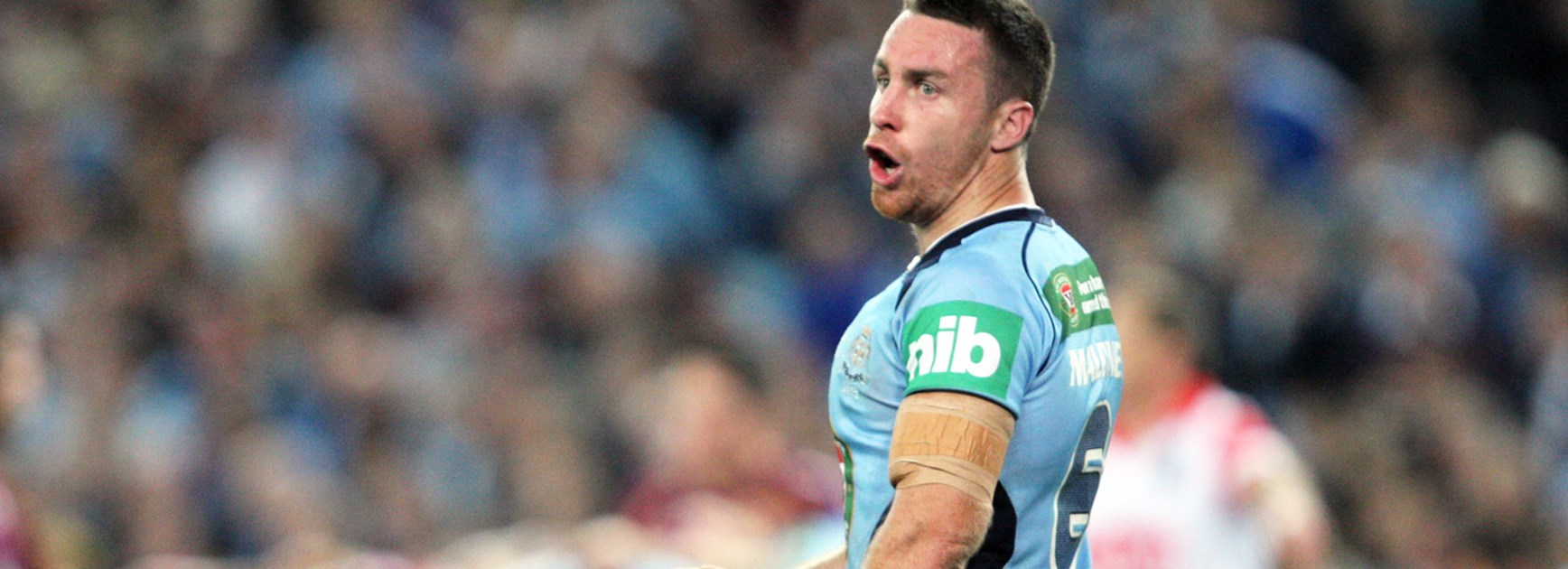 Sharks five-eighth last played for NSW in 2013.