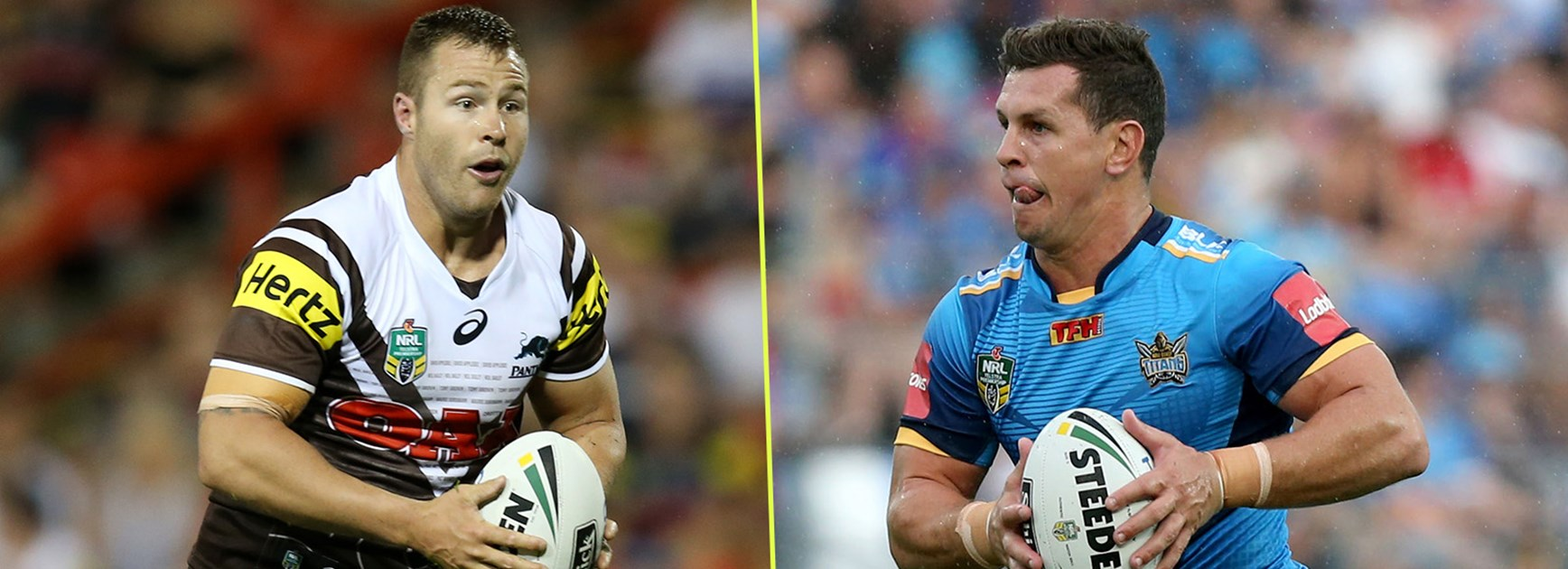 They are likely to be State of Origin teammates, but that won't matter when Trent Merrin and Greg Bird clash on Sunday.