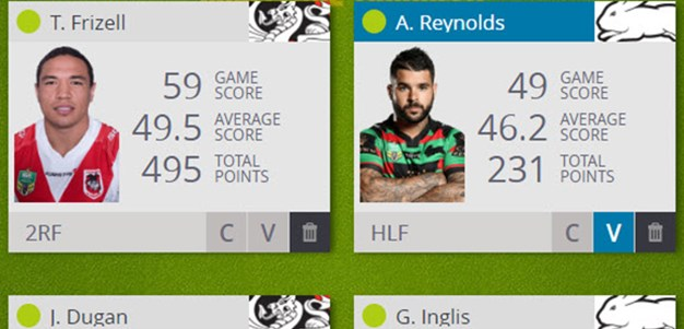 NRL Fantasy Match Day Thursday: Rabbitohs v Dragons