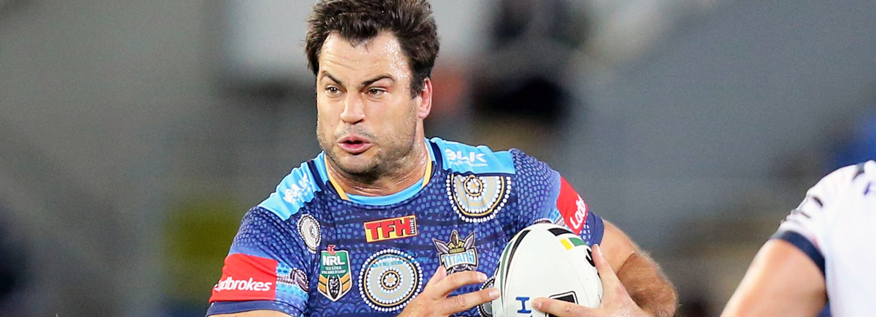 Titans prop David Shillington against the Roosters in Round 10.