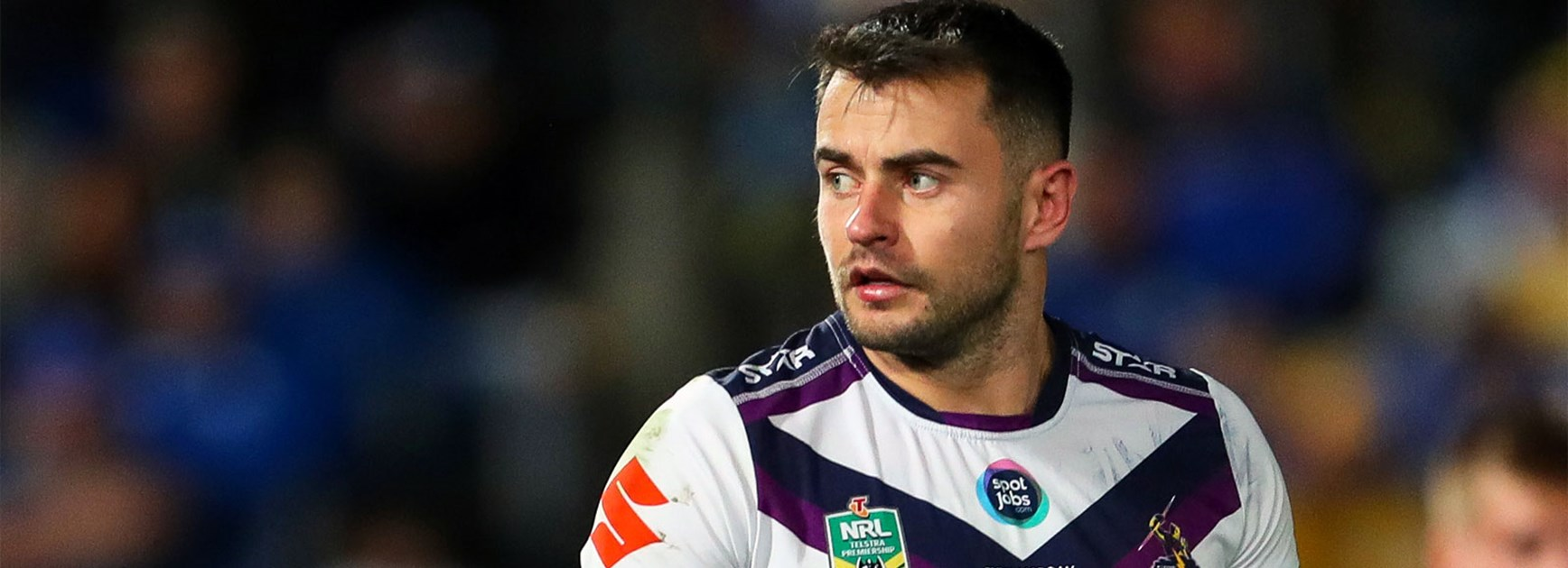 Ryan Morgan enjoyed a winning start to life as a Storm player against his old Parramatta teammates in Round 11.