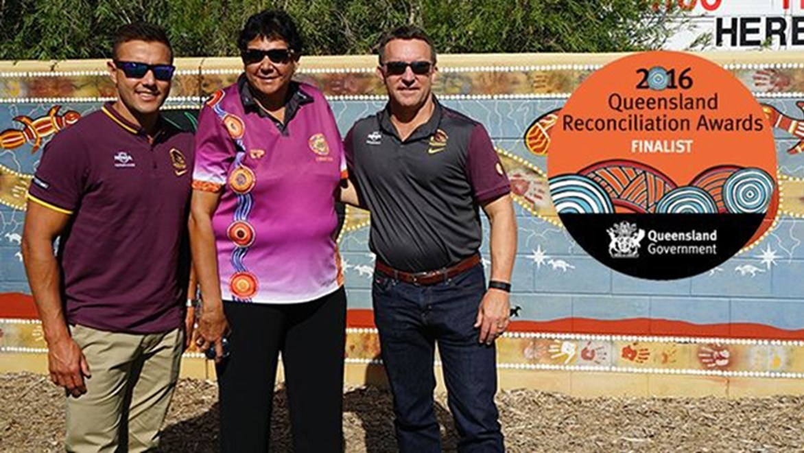 The Brisbane Broncos have been announced as finalists for the 2016 Queensland Reconciliation Awards.