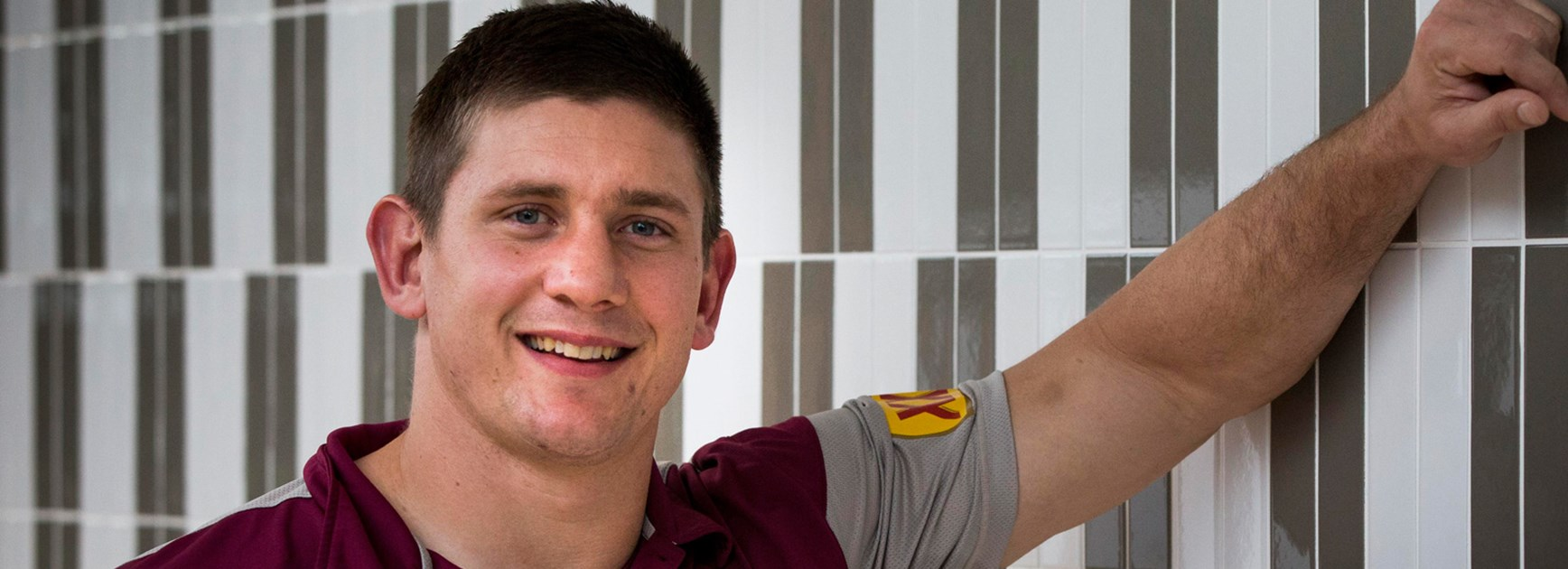 Jacob Lillyman will again provide plenty from the bench for the Maroons in the Origin decider.