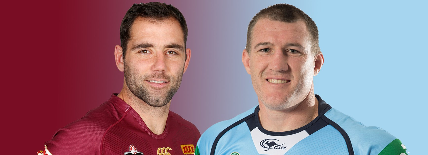 Cam Smith and Paul Gallen will lead from the front in Origin I at ANZ Stadium.
