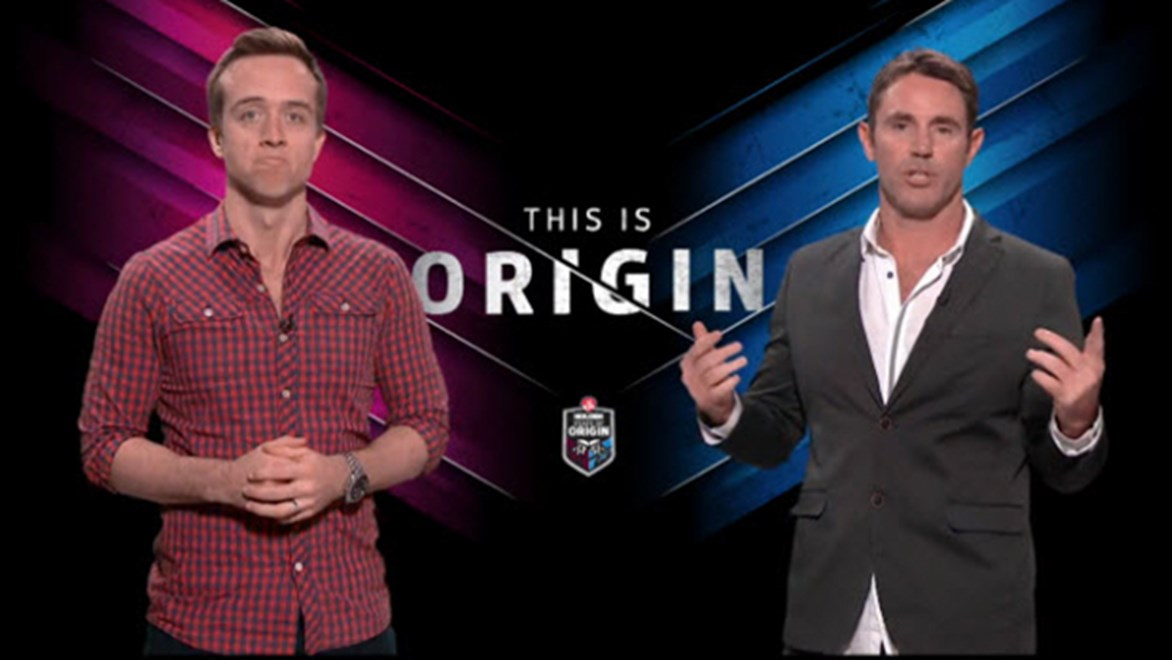 Will McCloy and Brad Fittler will host the Telstra Origin Live Show on Wednesday, June 1 in Sydney.