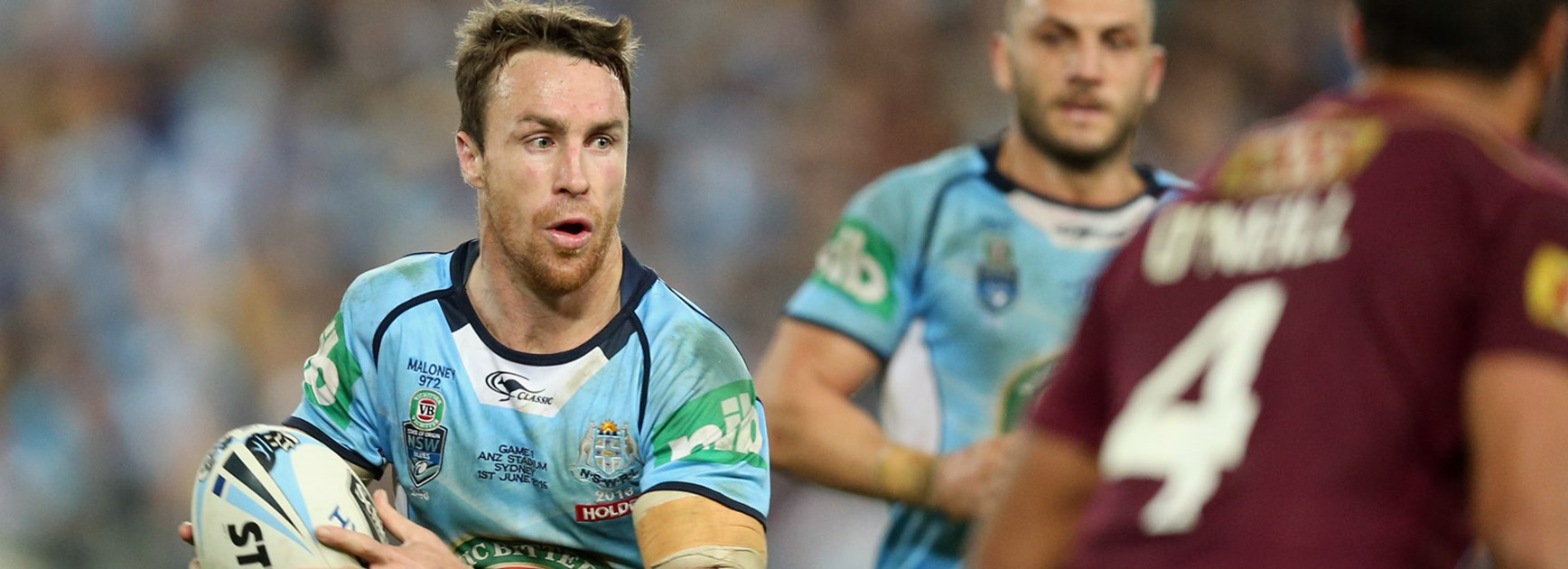 NSW five-eighth James Maloney during Origin I.