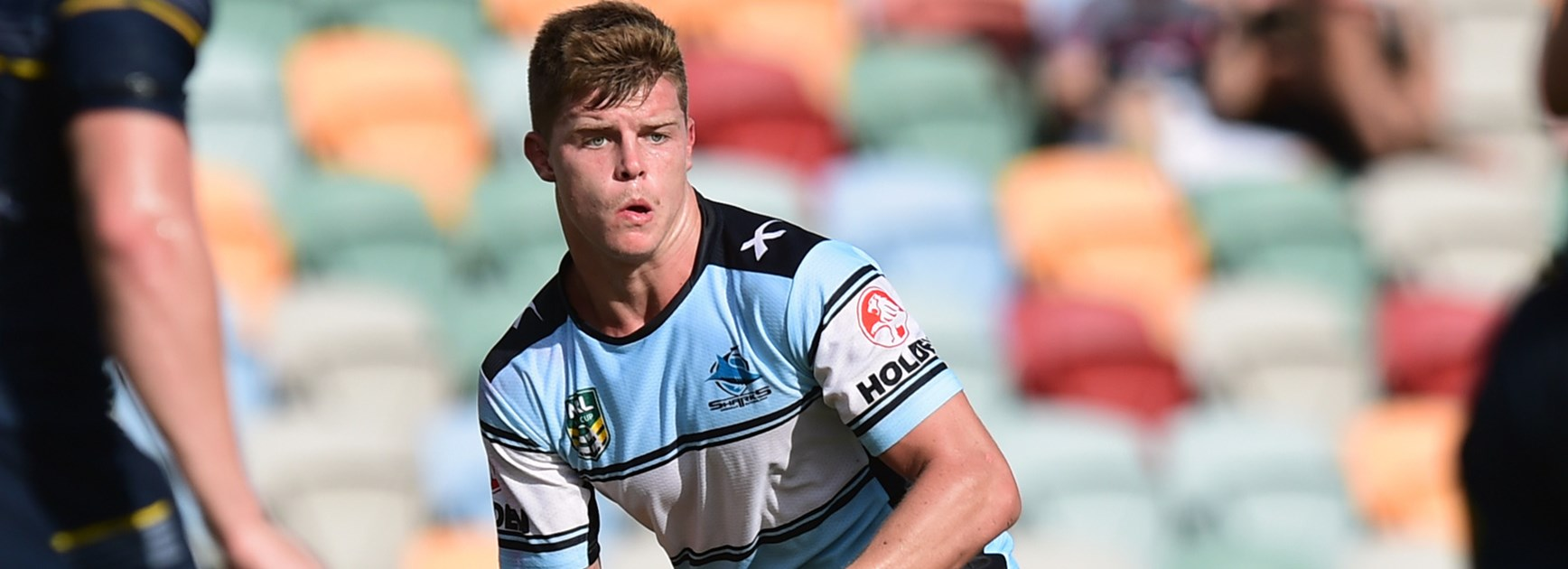 Sharks NYC dummy-half Jayden Brailey looks likely to move into the NRL side in the coming years.