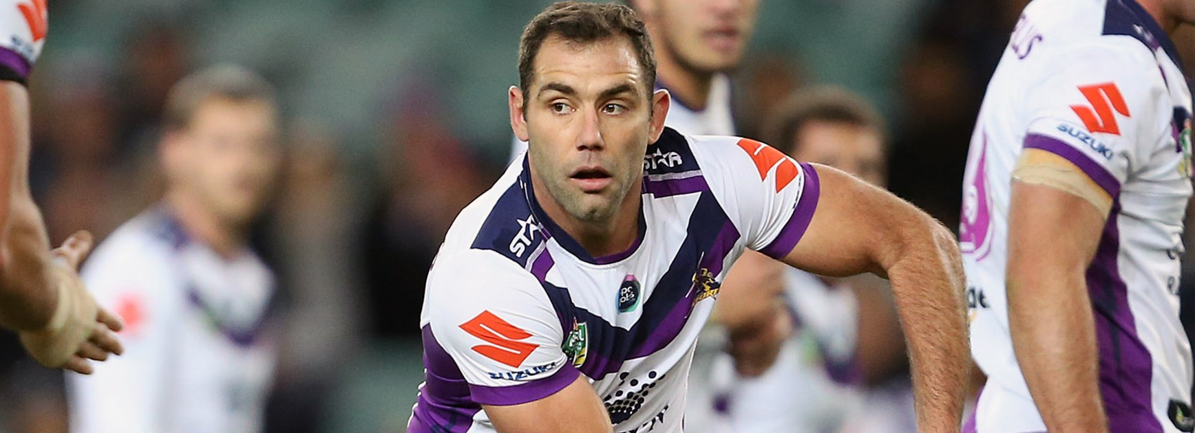Cameron Smith against the Roosters in Round 14.