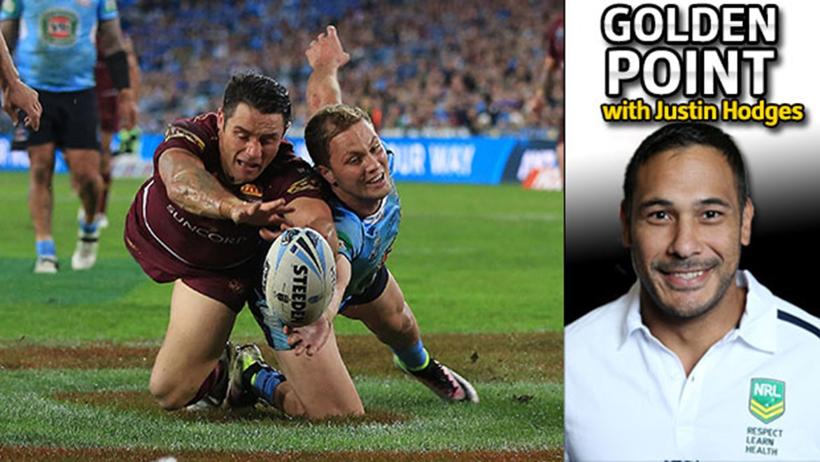 Justin Hodges looks at where State of Origin II at Suncorp Stadium will be won and lost.