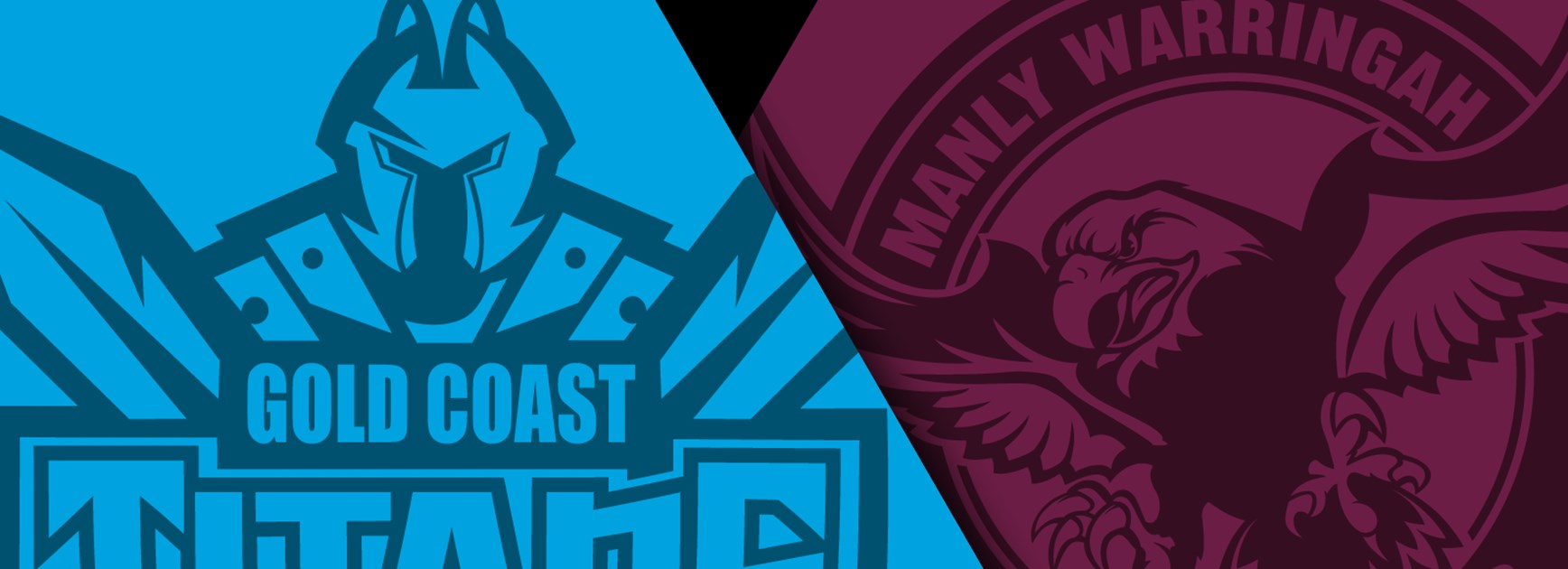 The Gold Coast Titans host the Manly Sea Eagles with both teams desperate for the two competition points.