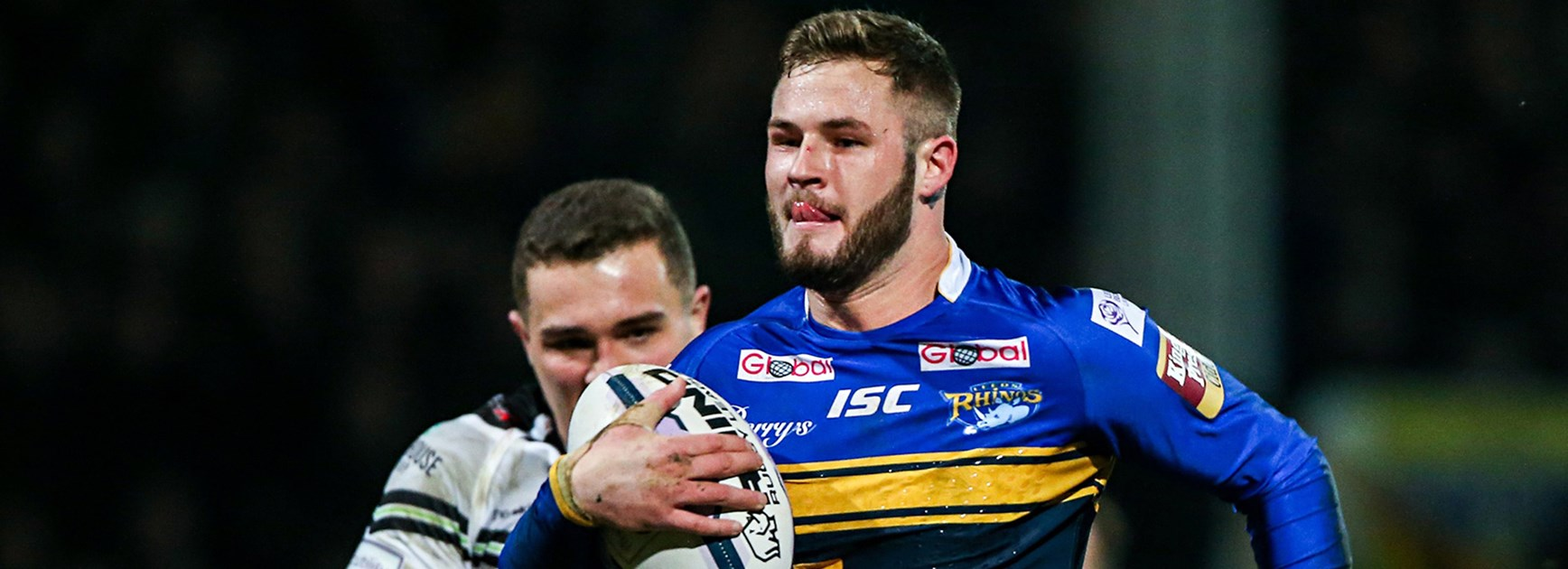 England fullback Zak Hardaker was named the Super League's Man of Steel when playing for Leeds in 2015.