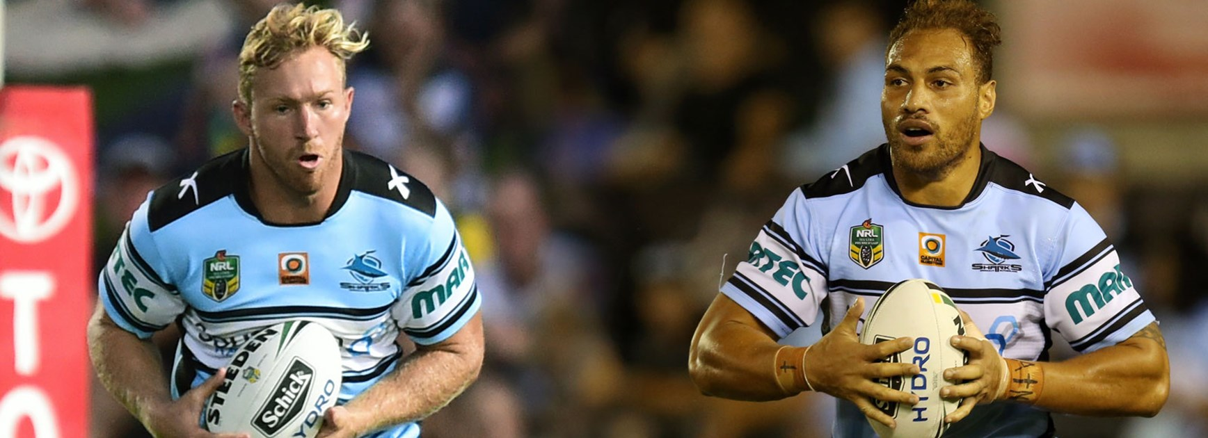 Props Matt Prior and Sam Tagataese have been the Sharks' unsung heroes so far in 2016.