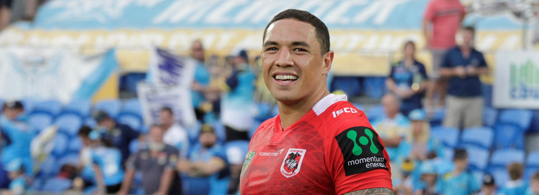 Tyson Frizell will back up for the Dragons against the Knights after State of Origin II.