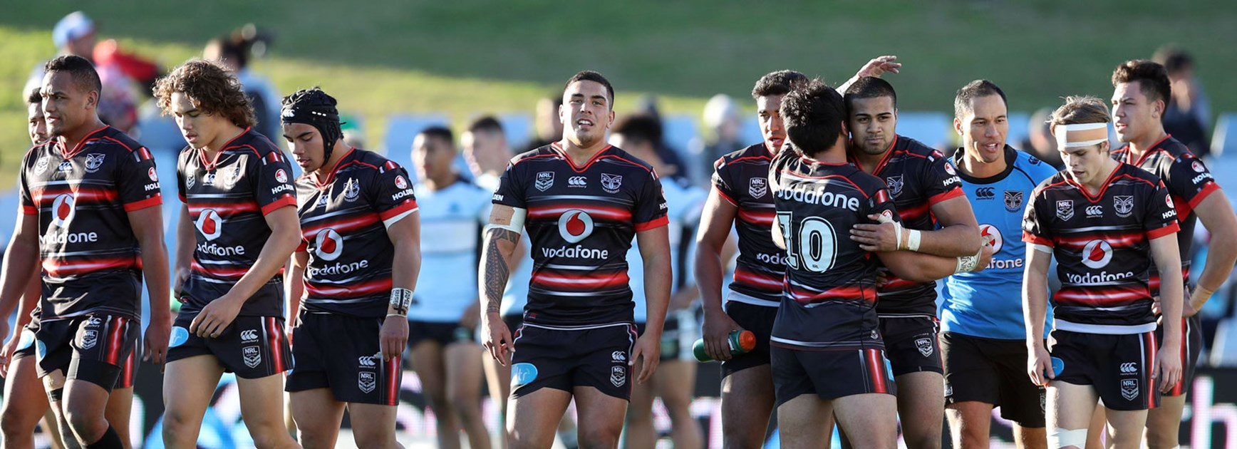 The NYC Warriors scored a tight victory over the Sharks in Round 16 of the Holden Cup.