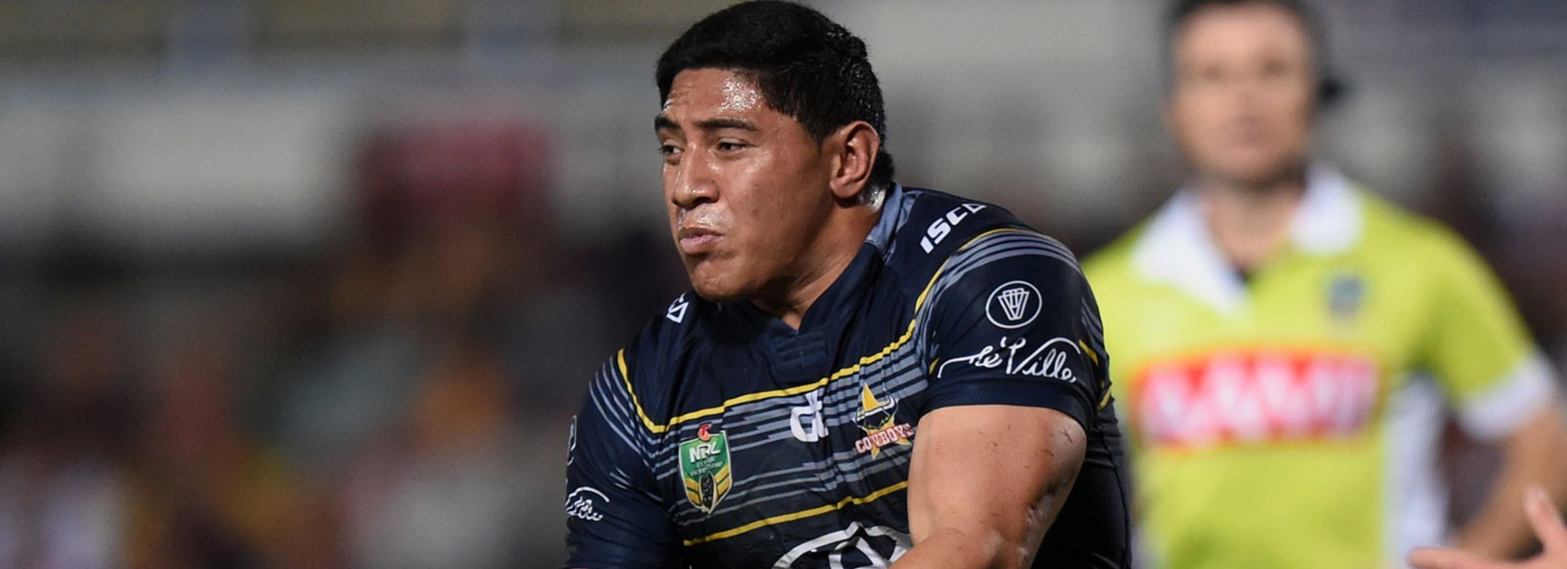Cowboys lock Jason Taumalolo was a handful for the Manly defence in Round 16.