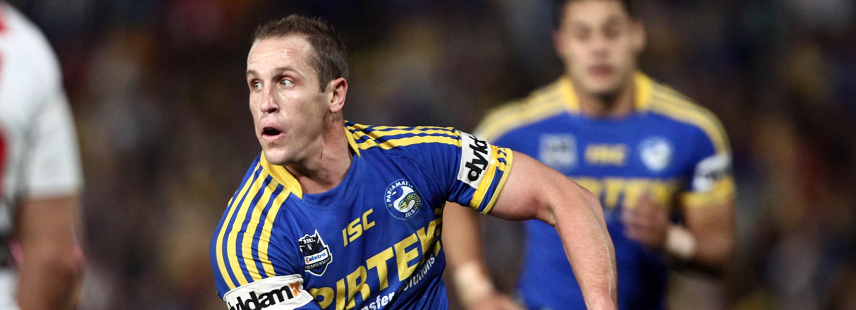 Jeff Robson has returned to the Parramatta Eels after stints with the Sharks and the Warriors.