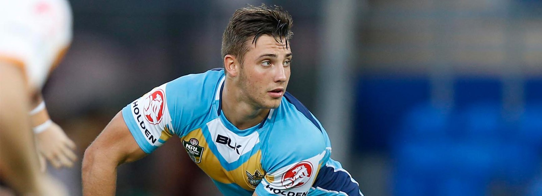 Karl Lawton will make history when he makes his NRL debut for the Titans.