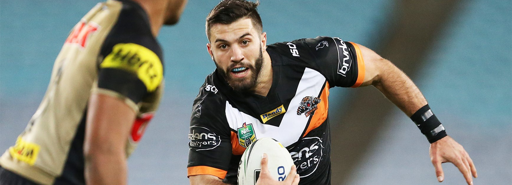 Former Wests Tigers fullback James Tedesco.